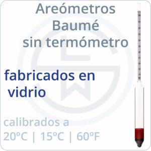 de vidrio (sin termómetro)