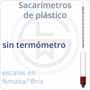 sin termómetro (de plástico)