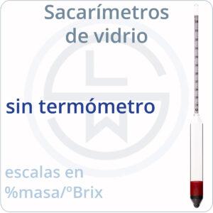 sin termómetro (de vidrio)