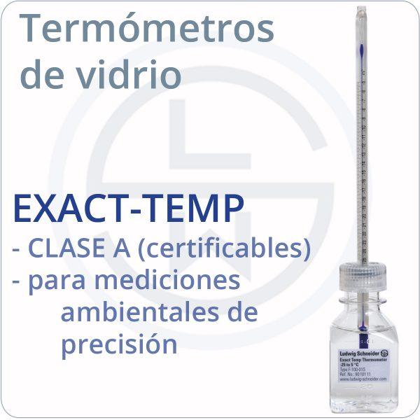 Termómetros EXAC-TEMP