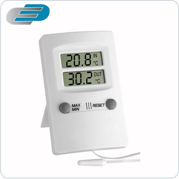 termometro digital de dos canales con sonda