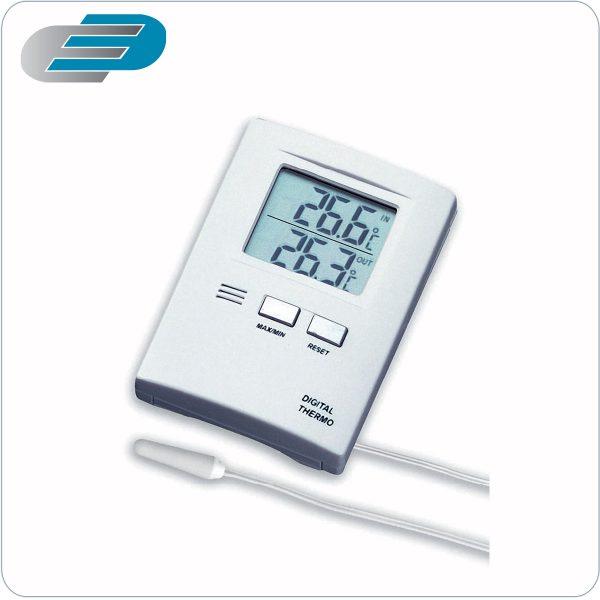 termometro digital con sonda de dos canales