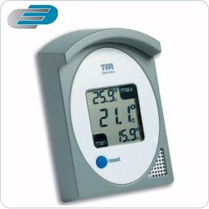 termómetro digital para montaje en expositor