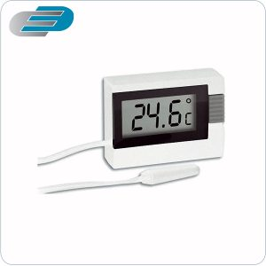 termómetro digital de dos canales con sonda